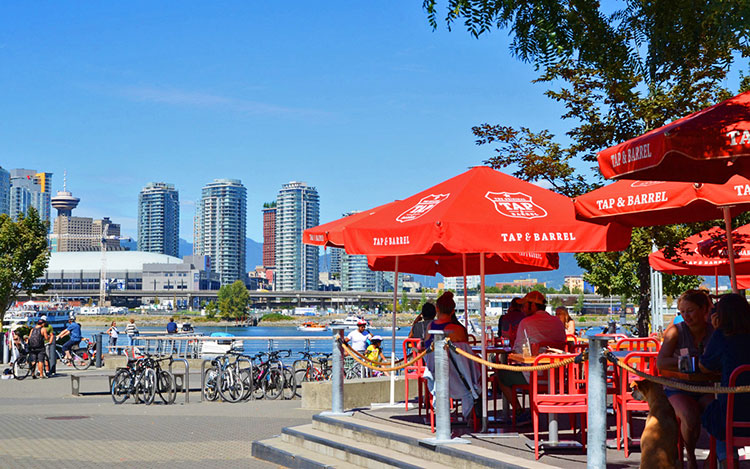 Pubs Amp Patios Pedal A Bikeable Feast Along Vancouver S Seawall Westcoast Food