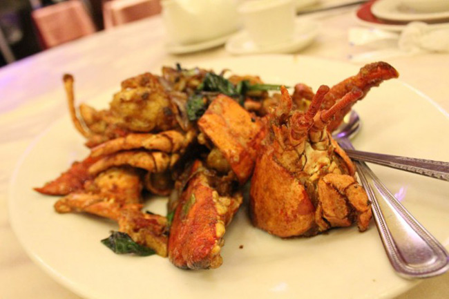 Lobster at Shiang Garden | Photo: Lindsay Anderson, 365 Days of Dining