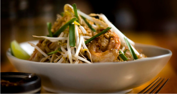 Pad Thai at Longtail Kitchen