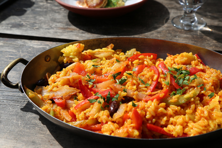Uli's Paella. Photo by Lenée Son
