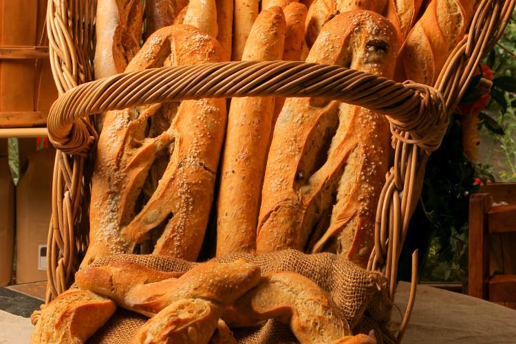 Artisinal breads by Fieldstone.