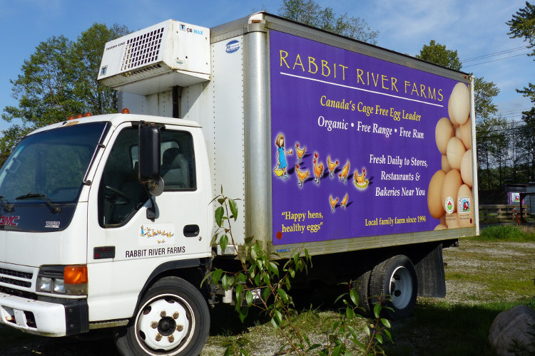 Rabbit River delivery truck