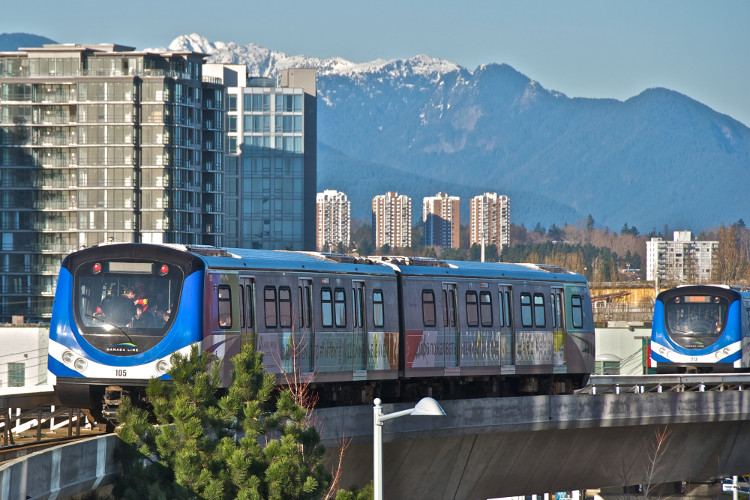 Canada Line in Richmond | image by Al Harvey for Tourism Richmond