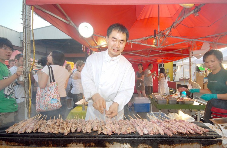 Satay at the Richmond Night Market | image by Chung Chow for Tourism Richmond