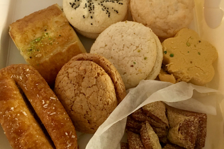 Goodies from Minoo Bakery | image by Nikki Hillman