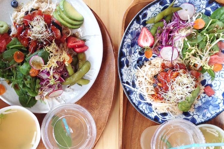 Salads for two at Sushinori