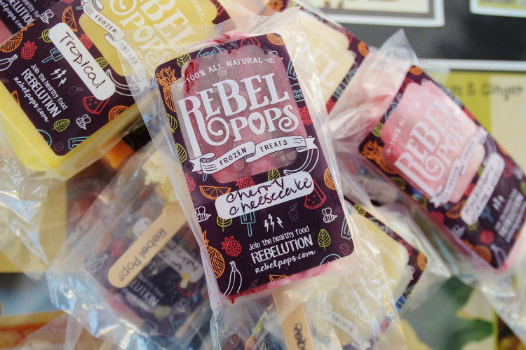 Rebel Pops celebrate fresh, local, real food ingredients that are grown in sustainable ways.