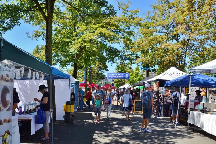 Granville Island Farmers Market in Vancouver