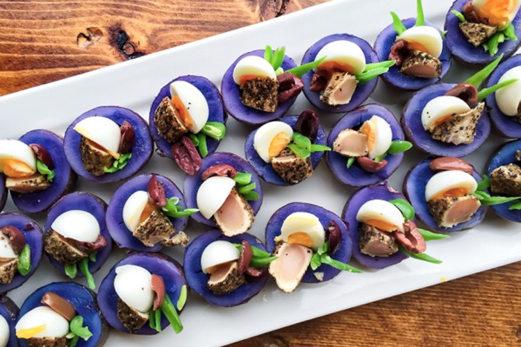 Tuna nicious cups | image courtesy of Boy With A Knife