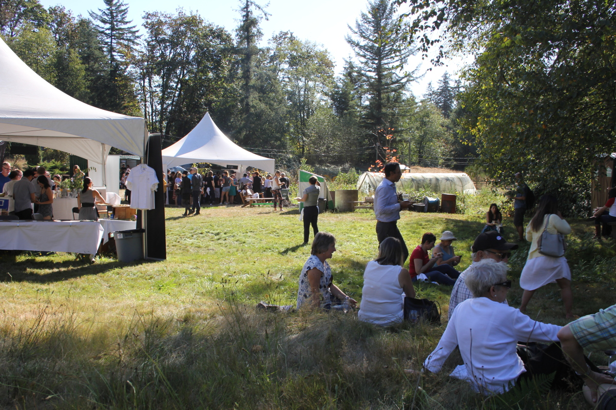 the organic gourmet feast of fields