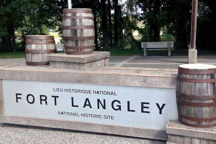 Fort Langley entrance
