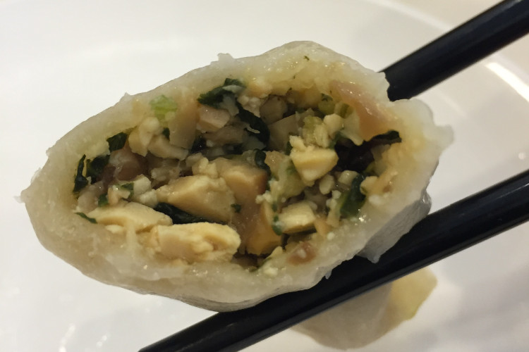 Pan-fried veggie dumplings from Su Hang Restaurant