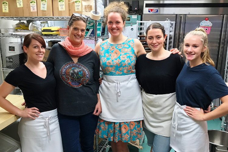 The Two Daughters Bakeshop team are committed to making high quality, healthful and flavourful baked products for everyone to enjoy, but particularly for the health-conscious community.