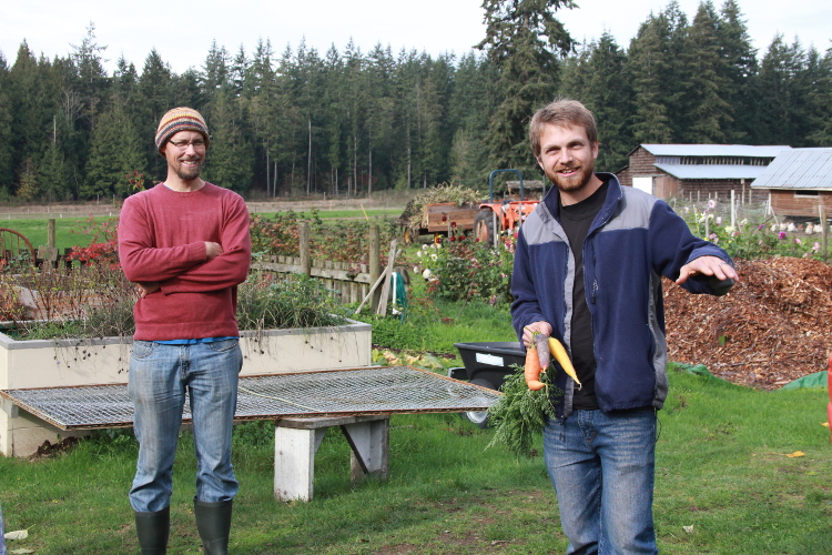 Andy Smith and Paul Neufeld of A Rocha Farm in Surrey, BC discuss the importance of sustainable growing and harvesting.