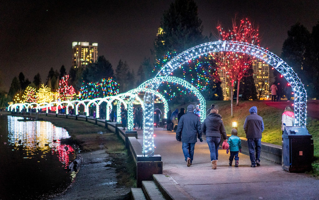 Warm-Up Foods Near Coquitlam's Lafarge Lake Holiday Lights