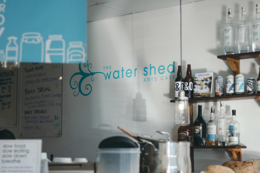 Water Shed Arts Café Langley