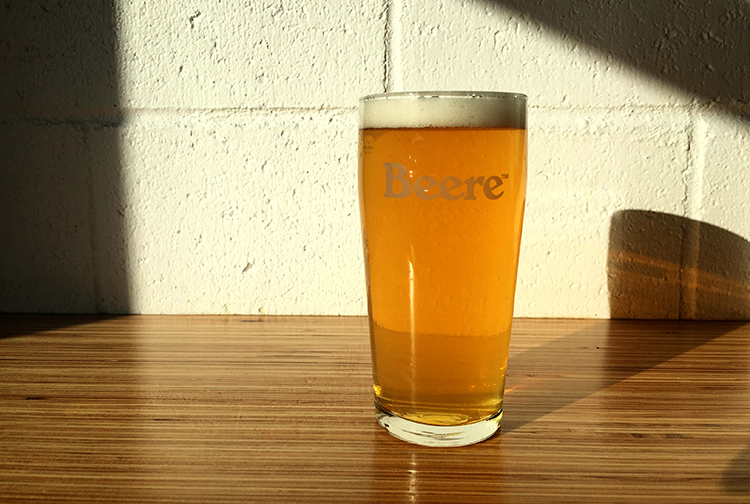 Alpine Start beer | Image courtesy of Beere Brewing
