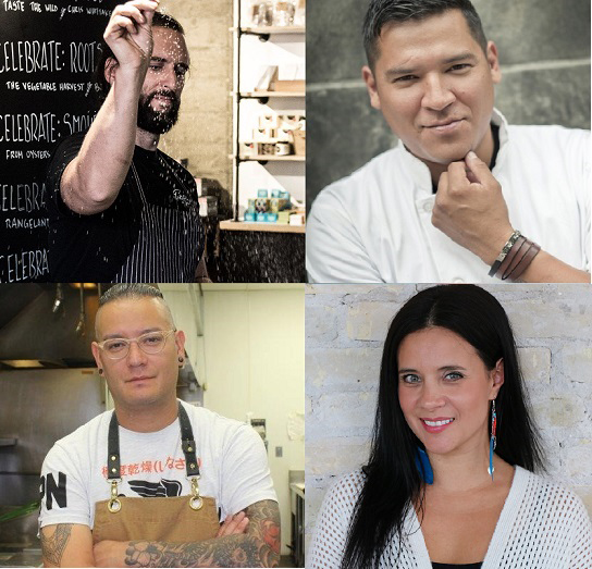 Dine Out Vancouver World Chef Exchange Indigenous