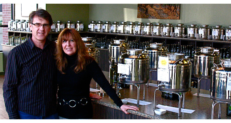 Kimm Brickman-Pineau and Glenn Pineau of All Of Oils | Image courtesy of All Of Oils, Surrey