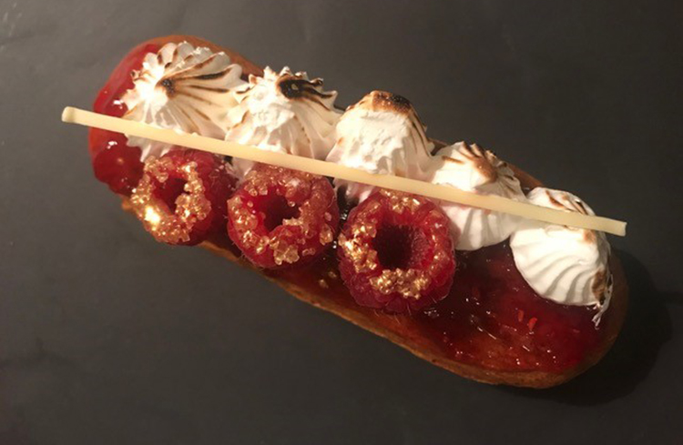 Blacksmith Bakery eclair