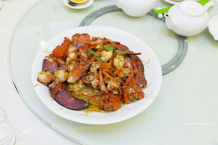 Lobster at Hoi Tong | Image by Sherman Chan