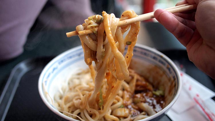 Noodles at Xi'an Cuisine | Image by Michael Kwan