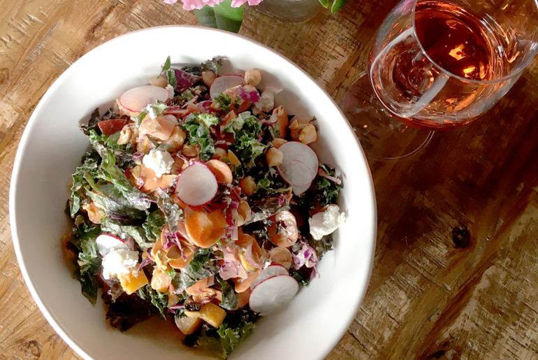 Osso-kale salad - Brittany Tiplady