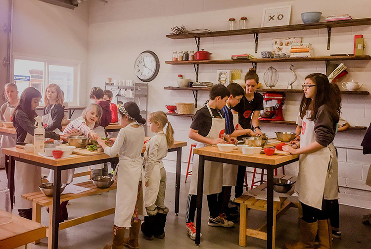 Well Fed kids cooking class