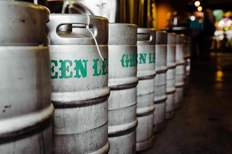 Green Leaf Brewery Kombucha