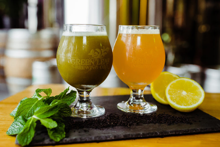 Green Leaf Brewing Kombucha