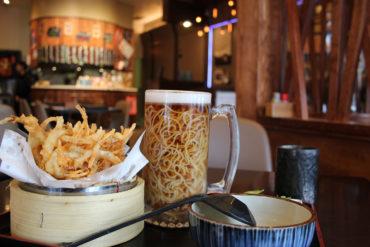Beer Ramen at Yuu Japanese Tapas, Richmond, BC, Canada