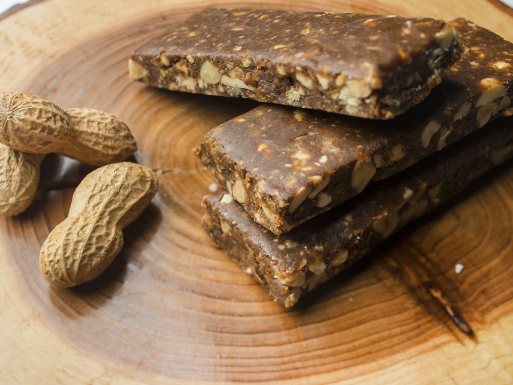Coast Protein peanut butter bars