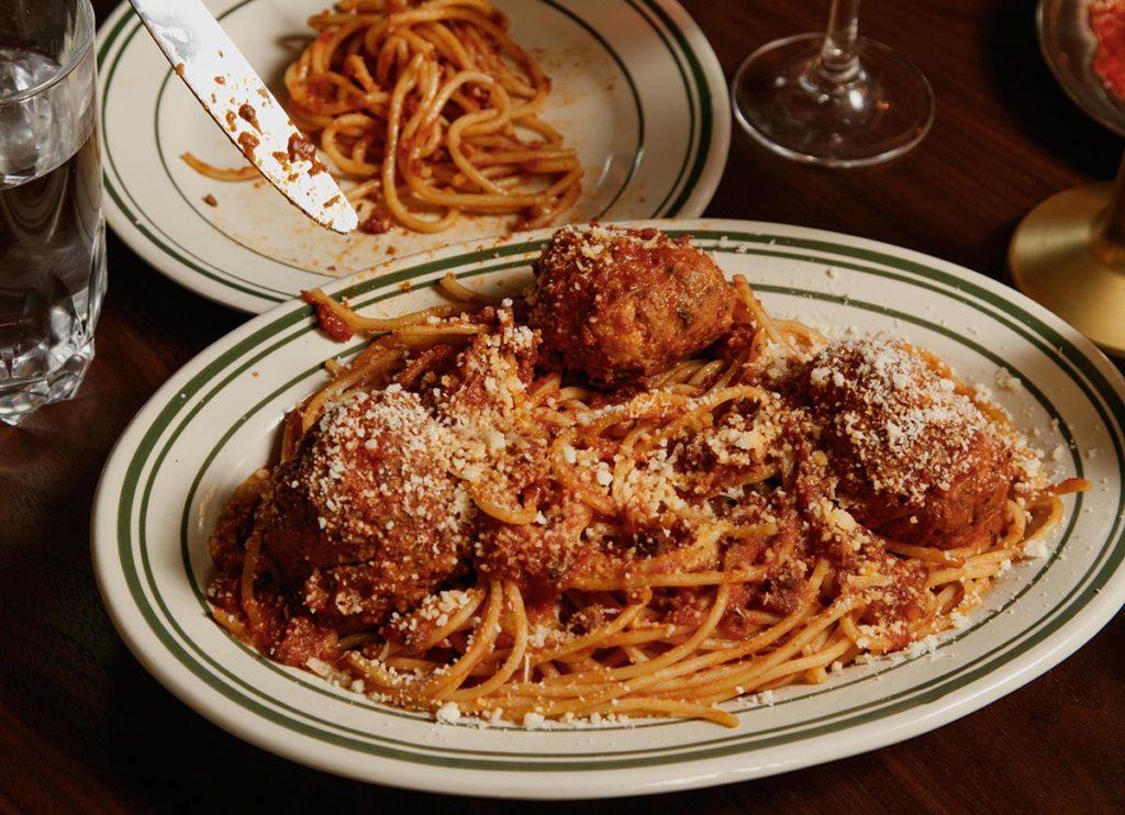Spaghetti at Pepinos Spaghetti House