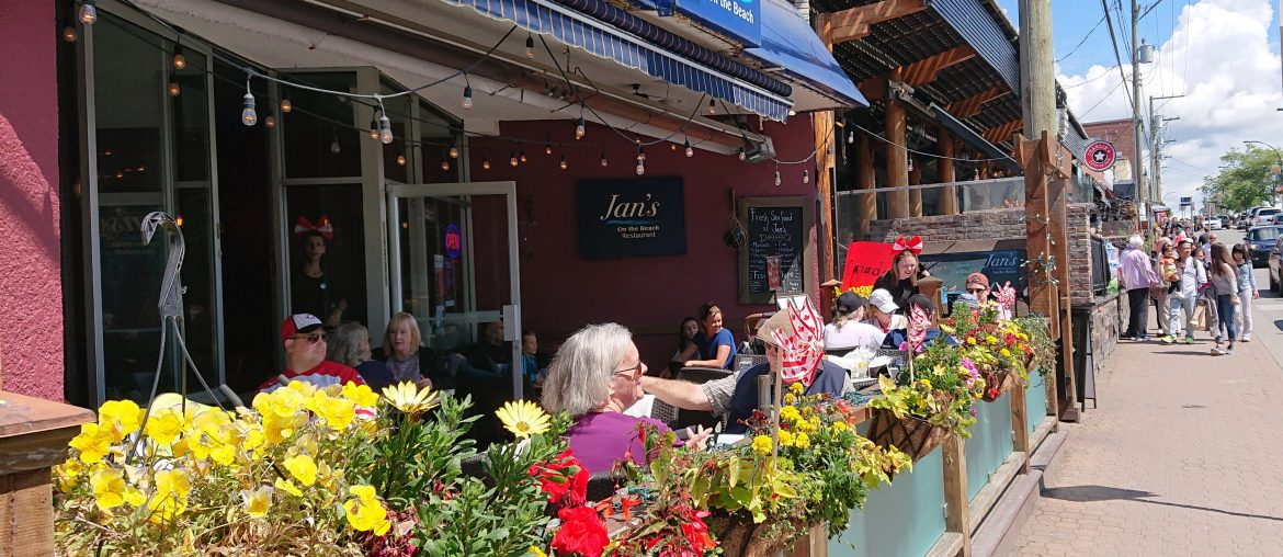 Jan's on the Beach, White Rock Canada