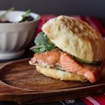 How Salmon n' Bannock makes their Triple Smoked Sage Salmon Burger Irresistible