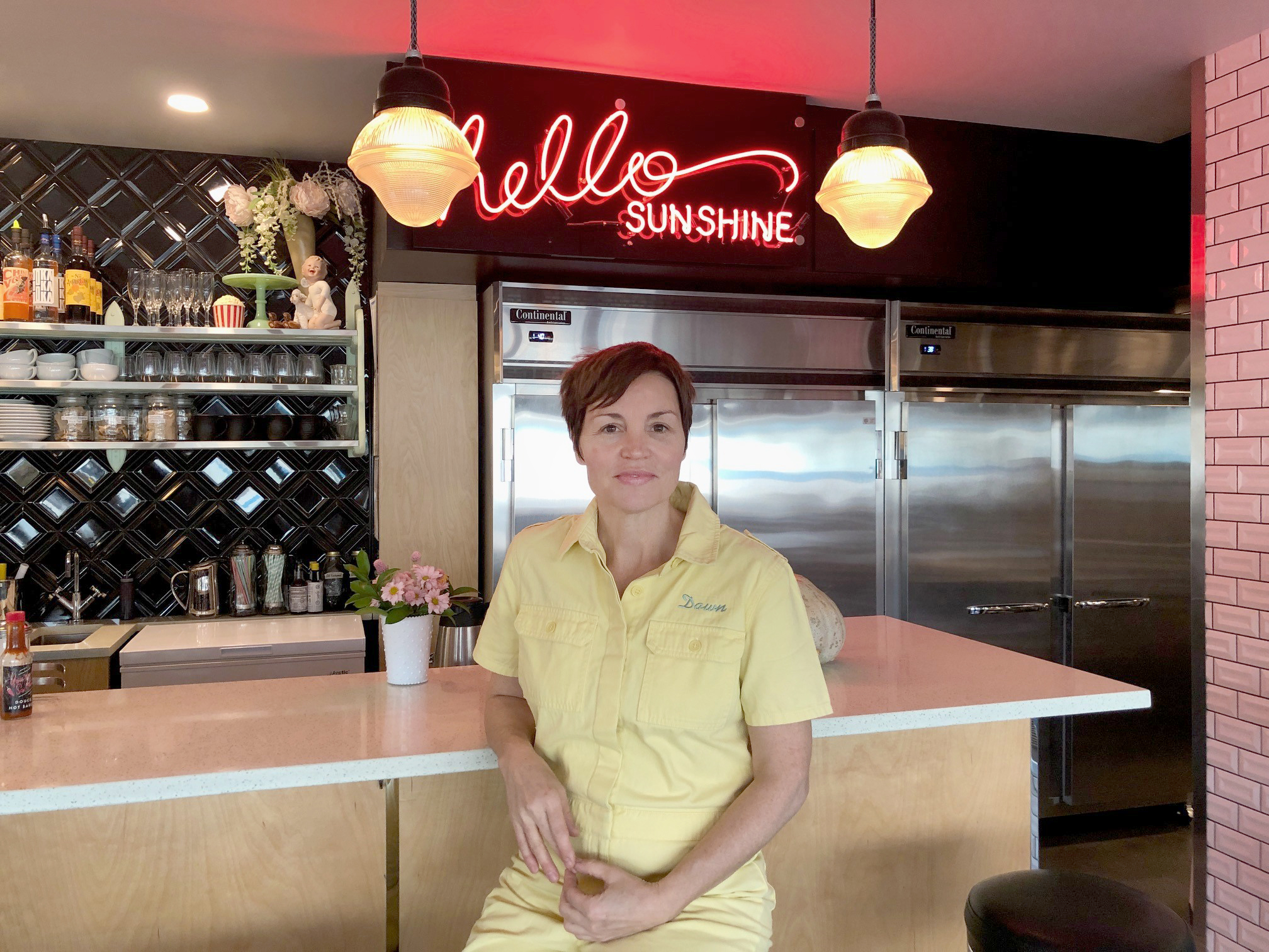 Go Clean and Classic in Chef Dawn Doucette's 50s-Style Diner in Vancouver