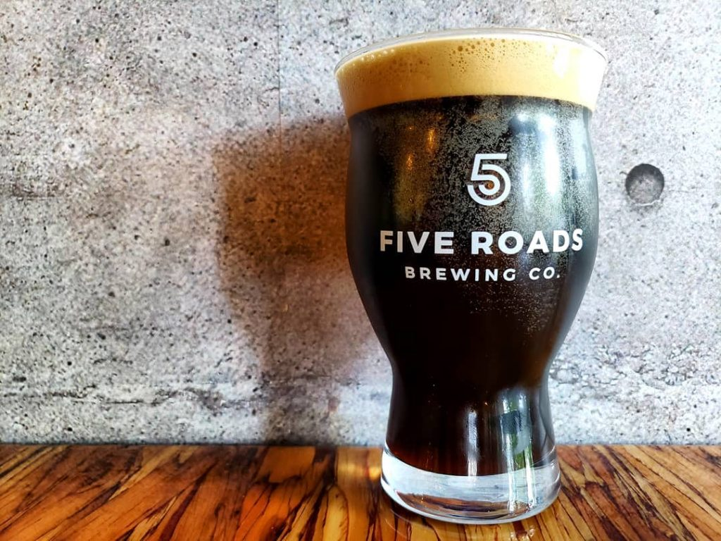 Five Roads Brewing Hello Darkness
