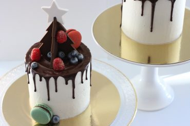 Gingerbread White Chocolate Christmas Cake by Butter Lane
