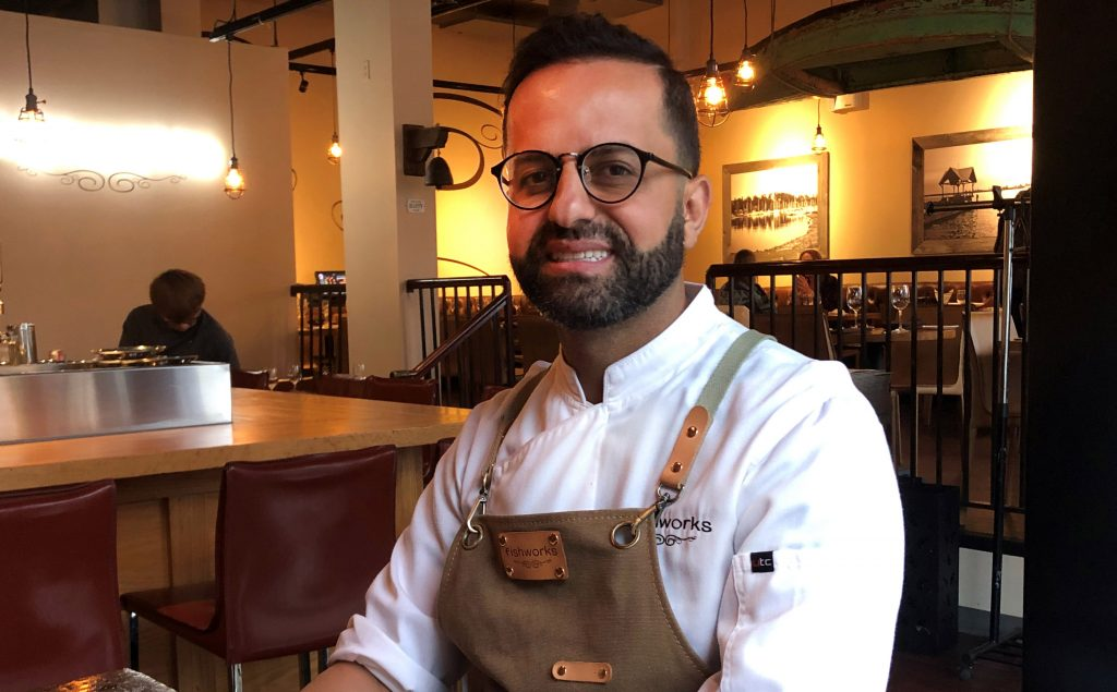 Meet Chef Shallaw Kadir of Fishworks on Vancouver's North Shore