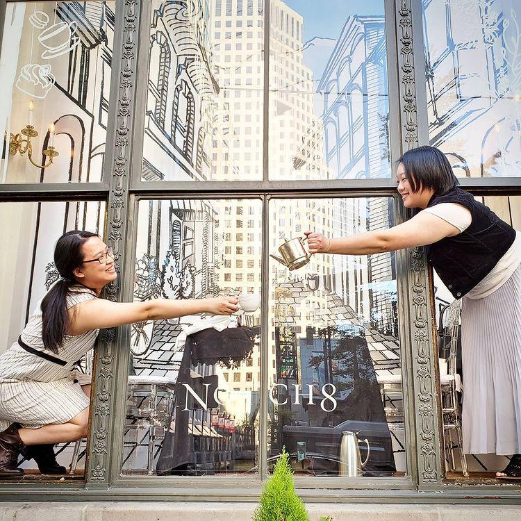 Fairmont Hotel Vancouver's Tea in the Window Returns