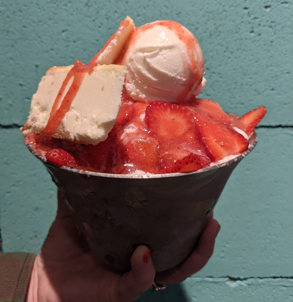 Strawberry Bingsoo Coquitlam